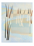 Reeds I Giclee Print by Mary Calkins