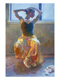 Seated Dancer Giclee Print by John Asaro