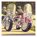 Playmates Giclee Print by Darrell Hill