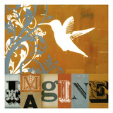 Imagine Giclee Print by Stella Bradley