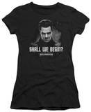 Juniors: Star Trek Into Darkness - Shall We Begin T-Shirts