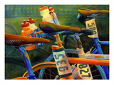 Nice Rack Giclee Print by Terri Hill