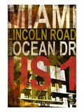 Miami 1 Giclée-Druck von Cory Steffen
