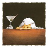 Rachunek z baru (The Bar Bill) Wydruk giclee autor Will Bullas