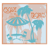 Tropical Scene 3 Giclee Print by Sharyn Sowell