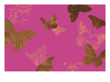 Butterflies 1 A Giclee Print by  jefdesigns