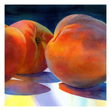Just Peachy Giclee Print by Terri Hill