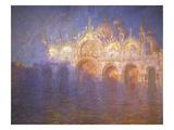 Piazza San Marco Giclee Print by John Asaro