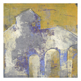 Painted Structure 3 Giclee Print by Maeve Harris