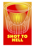 Shot to Hell Giclee Print by Lauder Bowden