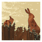 Bunny 2 Giclee Print by  jefdesigns