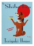 Shiba Inu Teriyaki Giclee Print by Ken Bailey