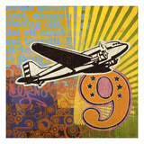 Plane Giclee Print by Johnny Taylor
