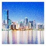 Miami Vibe Giclee Print by  GI ArtLab