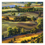 Umbrian Hills I Giclee Print by Sarah Waldron