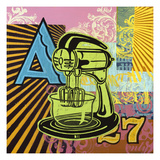 Electric Mixer Giclee Print by Johnny Taylor