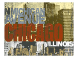 Chicago 4 Posters by Cory Steffen