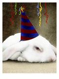 Party Animal Giclee Print by Will Bullas