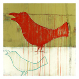 Red Robin Giclee Print by Christopher Balder
