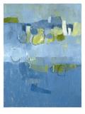 Blue View Kunstdruck von Jenny Nelson