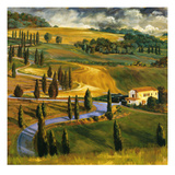 Umbrian Hills II Giclee Print by Sarah Waldron