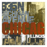 Chicago 2 Giclee Print by Cory Steffen