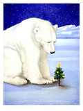 Polar Prayer Giclee Print by Will Bullas