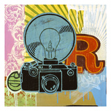 Super Flash Giclee Print by Johnny Taylor