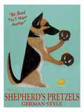 Shepherd's Pretzels Poster by Ken Bailey