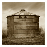Butler Corn Crib Photographic Print by TM Photography