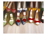 Shoe Seige Giclee Print by Janet Hill