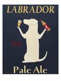 Labrador Pale Ale Giclee Print by Ken Bailey