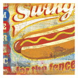 Swing for the Fences Giclee Print by Cory Steffen