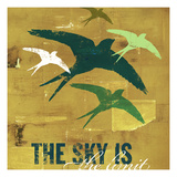 The Sky is the Limit 3 Giclee Print by CJ Elliott