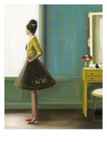 The Magic of Miss Evans Giclee Print by Janet Hill