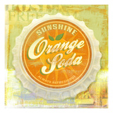Orange Giclee Print by Cory Steffen
