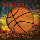 Basketball Square II Print by Denise Tedeschi