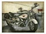 Motorcycle Memories I Posters by Jennifer Goldberger