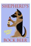 Shepherd'S Bock Beer Reproduction pour collectionneur par Ken Bailey