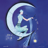 Paper Moon Poster by Marilyn Robertson