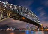 Sydney Harbour Bridge Art by Lothar Ernemann