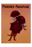 Pooches Parapluie Limited Edition by Ken Bailey