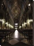 Notre Dame Interior Stretched Canvas Print by Dale MacMillan