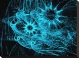 Blau Leinwand von Tatiana Lopatina