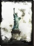 Liberty Lady Płótno naciągnięte na blejtram - reprodukcja autor Dale MacMillan