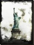 Liberty Lady Stretched Canvas Print by Dale MacMillan