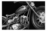 Vintage Motorcycle I Posters by Ethan Harper