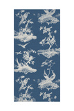 Toile in Indigo Giclee Print by Vision Studio