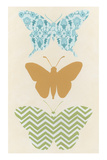 Butterfly Patterns IV Posters by Erica J. Vess