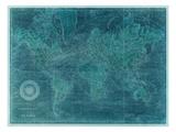Vision Studio - Azure World Map - Poster